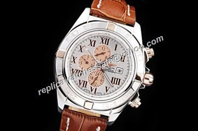 Gents Breitling Chronomat Gold Crown 44mm Day date Automatic Watch