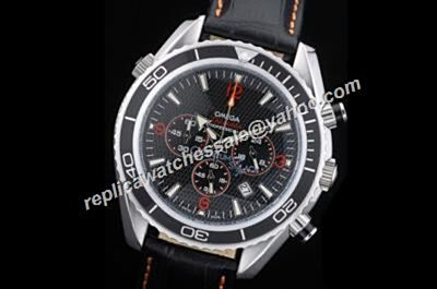 Omega Seamaster 300m Co-axial Chrono Ref 2910.51.82 Black 24 Hours Men's Watch