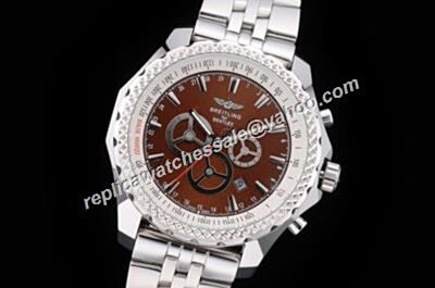 Breitling Bentley A25363 Barnato Racing Men's Brown Dial Rep Date Watch