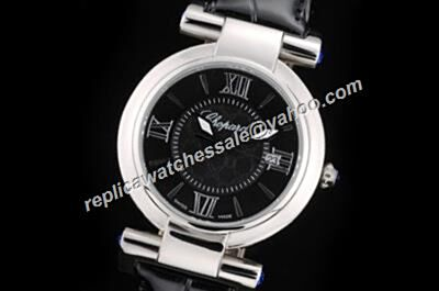 Replica Chopard Imperiale Ladies Silver Bezel 36MM Date Watch