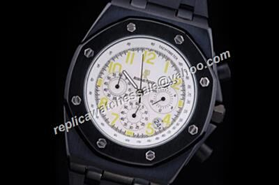 AP Alinghi Polaris 26040ST.00.D002CA.01 Limited Chronograph Gents Yellow Markers Watch