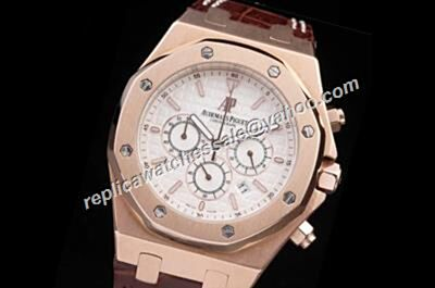 Fake AP 30TH Anniversary Royal OAK Special Edition 24 Hours Rose Gold Watch