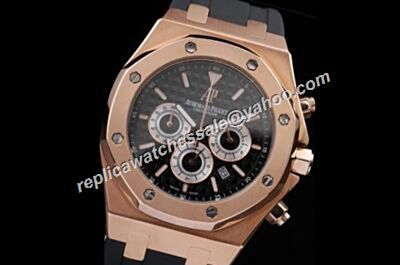 Cheap AP Royal OAK 26320OR.OO.D002CR.01 30TH Anniversary Limited Chronograph 24 Hours Rose Gold Watch