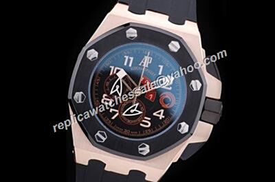 AP Offshore Alinghi Team 26062OR.OO.A002CA.01 Offshore Ltd .Edition Chronograph Men Faux Watch