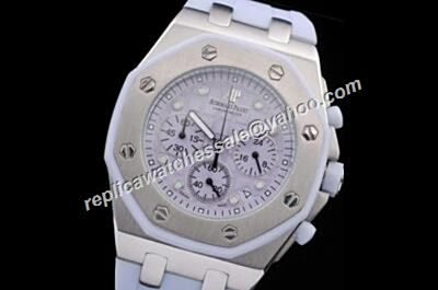 AP Offshore Lady Alinghi Limited Red Light Purple Chronograph 24 Hours Watch