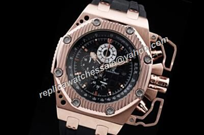 AP Chronograph Offshore Survivor Limited Edition Rose Gold 42mm Replica Watch