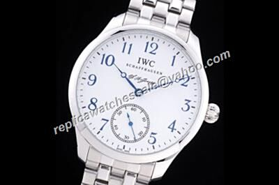 2017 IWC Portuguese  Minute Repeater 7 Days All Silve Steel Bracelet Watch Replica
