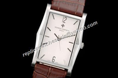Vacheron Constantin 81018/000R-9657 White Gold Historiques Quartz Faux Rectangle Watch