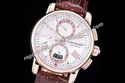 Montblanc Chronograph 4810 Automatic Date  Rose Gold 24 Hours Watch Replica