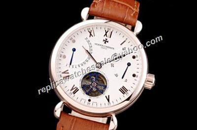 Vacheron Constantin Traditionnell Patrimony Tourbillon Date Power Reserve 45mm Casual Watch