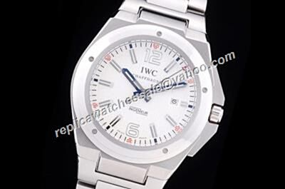 IWC Ingenieur Ref IW323604 Automatic Mission Earth White Gold Watch Rep