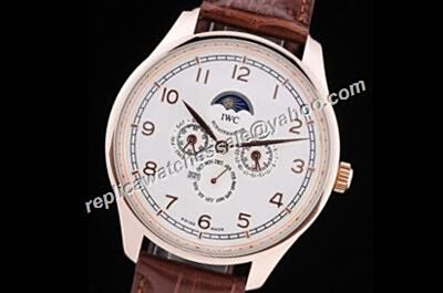 IWC Portuguese IW503302  Complication prezzo Perpetual Calendar 18k Rose Gold Watch