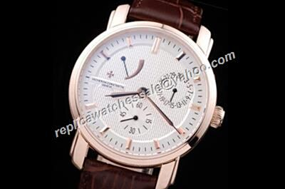 Vacheron Constantin 83060/000r-9288 Malte Power Reserve Date Rose Gold Bezel 38mm Trendy Watch CVC009