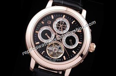 Clone Vacheron Constantin Tourbillon Patrimony Day Date 24 Hours 44mm Watch
