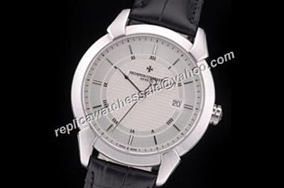 Swiss Rep Vacheron Constantin Ref 86050/000D-G920G QUAI DE L'ILE V01R-9271 White Gold Business Watch CVC031