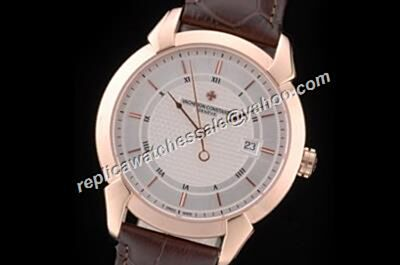 Vacheron Constantin ref 86050/000R-I022I Rose Gold QUAI DE L'ILE  2-Tone  Swiss 41mm Watch CVC029