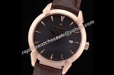 Vacheron Constantin Patrimony Date Rose Gold Bezel 40mm Business Watch CVC052