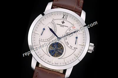 Vacheron Constantin Traditionnelle Tourbillon Patrimony Day Date 45mm  Gents Watch