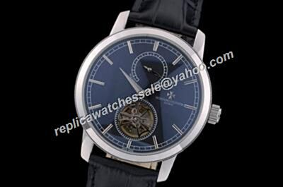 Vacheron Constantin Royal Blue Tourbillon Traditionnelle Ref 89000/000P-9843 Silver SS  Watch