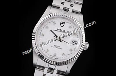 Tudor Classic Day Date Daimond  Auto Swiss Movement Silver Bracelet Watch