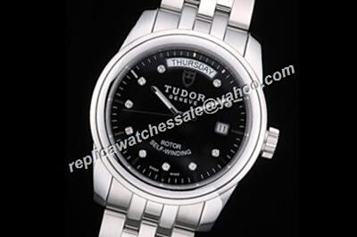 Tudor Classic Boys Ref 21010-62580 Day Date White Gold Fluted Bezle 38mm Silver Watch
