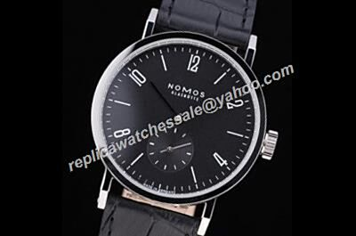 Nomos Tangomat  603 Men's 38mm Carbon Black Small Second Watch