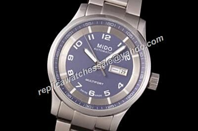 Mens Mido Multifort Automatic Ref M018.430.11.062.00 Royal Blue Copy Watch