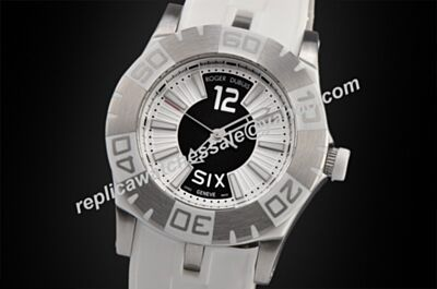 Roger Dubuis Easy Diver 24 Hours Edition Mens White Gold Skeleton Watch