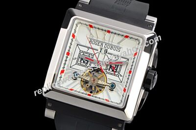 Roger Dubuis KingSquare  Tourbillon Ref RDDBKS0016 Chronograph Automatic Mnes 40mm Watch
