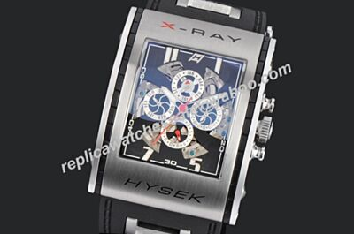 Jorg Hysek X-RAY Skeleton Complete Calendar Chronograph Auto Replica Watch