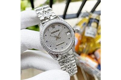 Rolex Boutique Datejust 316 Stainless Steel Case Mineral Super Strong Mirror Diamond Bezel Couple Replica Watch