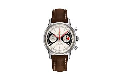Replica Breitling Top Time Deus Limited Edition Zorro Dial Stainless Steel Pin Buckle Brown Nubuck Leather Strap Vintage Watch