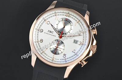 Hollywood IWC Portuguese Yacht Club IW390501 Chronograph Special Rubber Band Watch