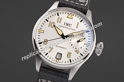 IWC Ref IW50090 Pilot's Father and Son Silver Dial Date Watch