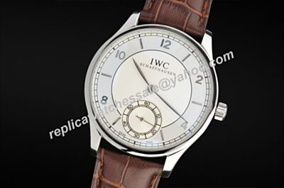 IWC Portuguese IW544505 Hand-Wound Mechanical Transparent Back Auto Watch Clone