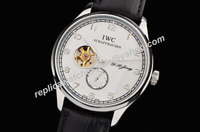IWC Portuguese IW546302 Hand-Wound Tourbillon F. A. Jones Edition Power Reserve Watch