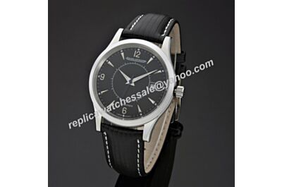 Jaeger-LeCoultre Master Memovox Swiss Auto Movement 40MM Date Black Watch JJ062