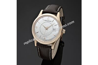 Jaeger-LeCoultre Master Control Master Memovox 40mm Ref.141.24.20 Rose Gold Swiss Rep Watch JJ066