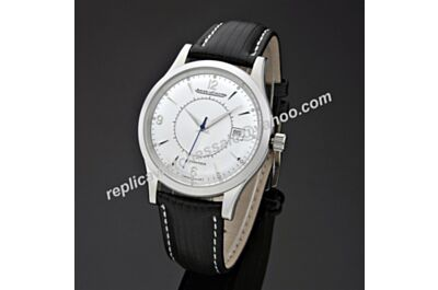 Jaeger-LeCoultre - Master Memovox Ref Q1418430 Date Swiss Movement Silver Watch JJ069