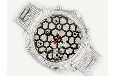 Cheap JACOB & CO Five Time Zone Pattern Diamonds Face Women's Wristwatch Copy