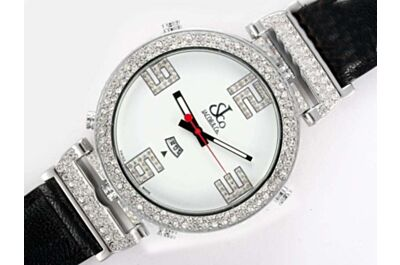 Jacob & Co. JCLDC Limited Diamonds  Stainless Steel Unisex Quartz Watch