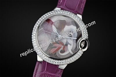 Ladies Ballon Bleu de Cartier HPI00331 Diamonds Bezel NO Date Watch