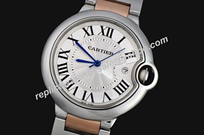 Ballon Bleu De Cartier 36MM Steel Case Women's Quartz Fake Watch