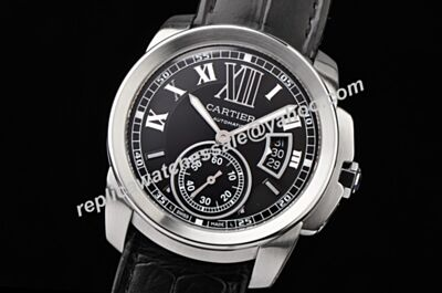 Swiss Calibre de Cartier WSCA0003 Automatic Date 38mm Men's Replica Watch KDY040