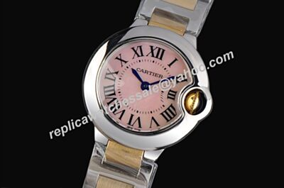 Ballon Bleu de Cartier W6920033 Special Pink Mop 36mm Watch Rep