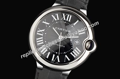Men's WSBB0003 Ballon Bleu de Cartier Swiss Made Automatic Date Watch KDY050