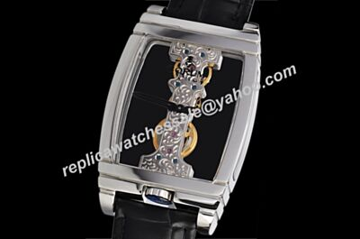 Corum Golden Bridges Automatic Ref 113.550.70/0001 0000R Skeleton Dial Gents Black Watch