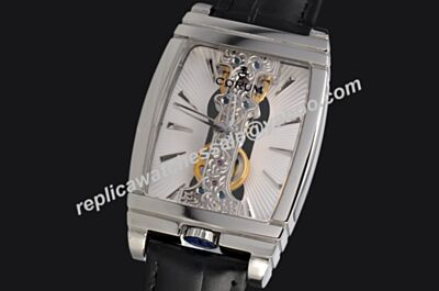 Corum Golden Bridges Automatic Mne's 34mm 113.150.59/0001 FK01 Skeleton Black Watch Fake