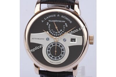 A. Lange & Sohne Zeitwerk Striking Time Rose Gold  Date Auto Watch Replica