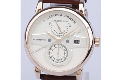 2017 A. Lange & Sohne Zeitwer minute repeater Men's 143.050 Champagne Gold Watch